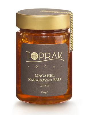 Toprak Doğal - Macahel Karakovan Balı 430 gr