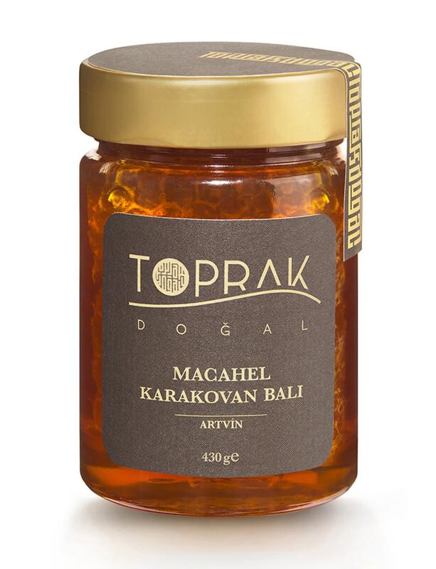 Macahel Karakovan Balı 430 G Artvin