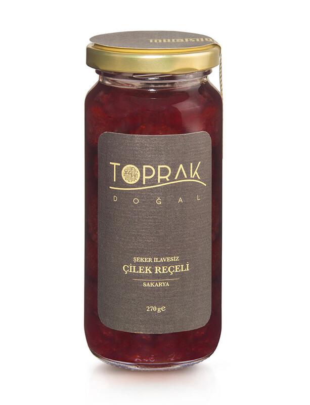 Çilek Reçeli 270 G Sakarya - Şekersiz